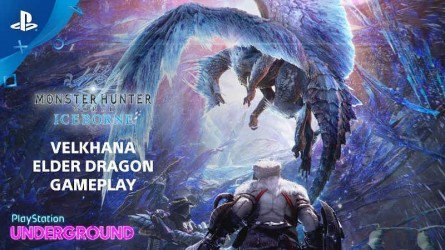 Геймплей Monster Hunter World: Iceborne от PlayStation Underground — Велхана