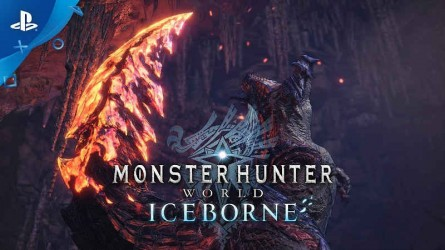Capcom показали Зиногра в новом трейлер Monster Hunter World: Iceborne