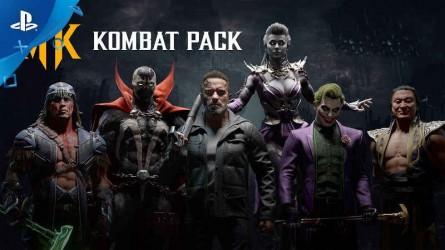 Трейлер Mortal Kombat 11 с Gamescom 2019 — Kombat Pack Roster