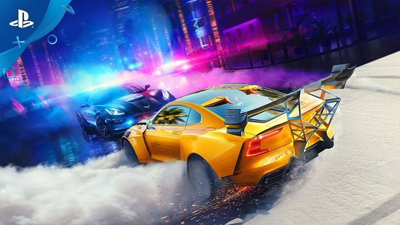 Need for Speed HEAT анонсирован, дебютный трейлер и дата выхода на PS4