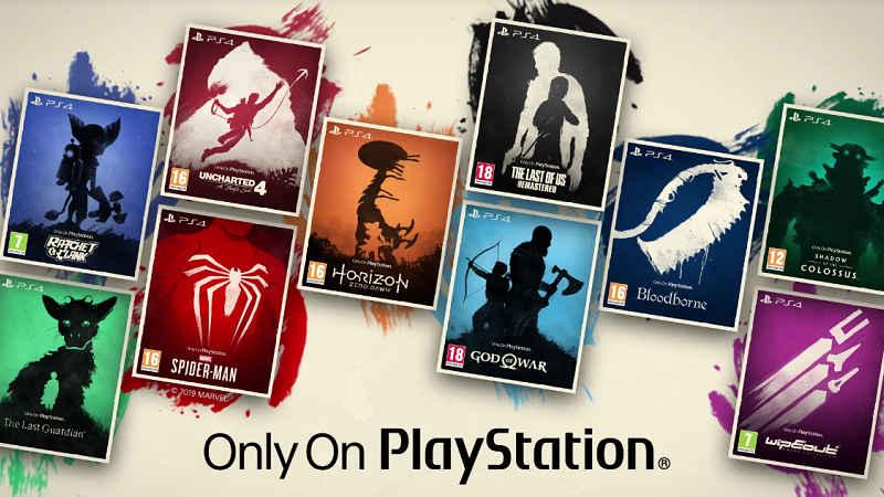 Популярные игры для PS4 получили стильные картонные обложками