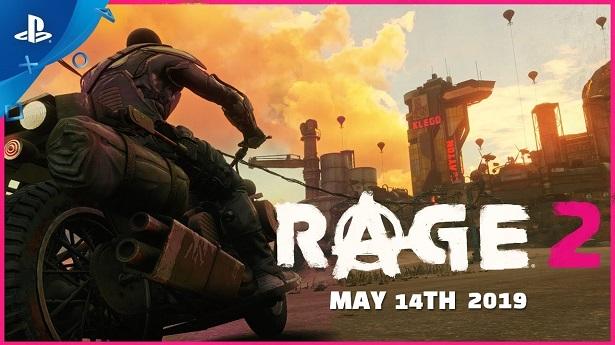 Трейлер Rage 2 — Все против меня