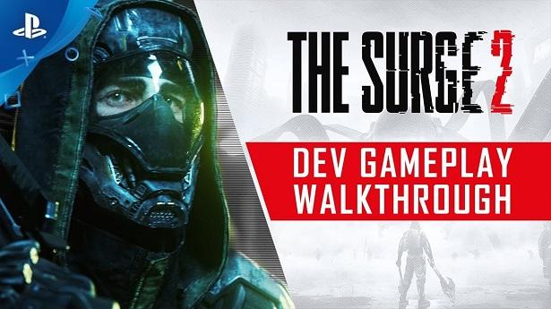 8 минут геймплея The Surge 2