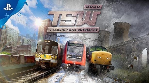 Дебютный трейлер Train Sim World 2020