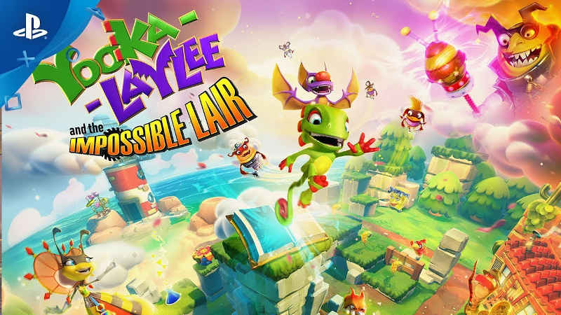 Дата выхода и новый трейлер Yooka-Laylee and the Impossible Lair для PS4